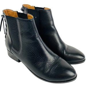 Aldo Boudinot Ankle Bootie Boots Lace Back 6.5